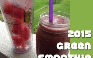 Smoothie Challenge – Healthy Changes for the New Year